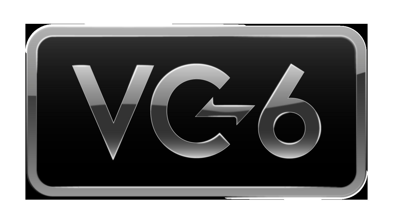 VC 6 Logo Final RGB Border Black